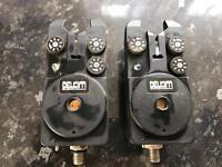 2 x delkim original alarms carp fishing