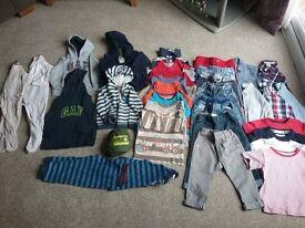 32 items Boys Clothes Bundle 12-18 months