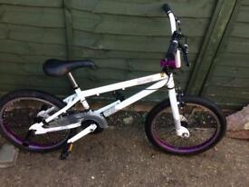 Boys or girls bmx bike