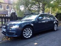 2009 AUDI A4 2.0 TDI AVANT SE FULL SERVICE HISTORY CAM BELT CHANGED VERY GOOD CONDITION DRIVES NICE