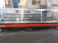 Meat counter 10 ft by 4ft wide refrigerated