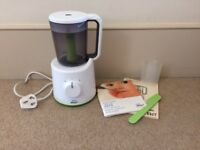 Philips Avent Steamer Blender - used but in perfect condition - all parts and instructions included