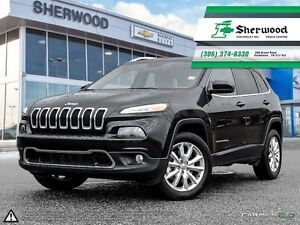 2016 Jeep Cherokee Limited V6 Leather/Roof/NAV