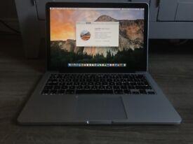 """Apple Macbook Pro 13"""" Retina display 2015. 2.7GHz i5/8GB/128GB SSD"""