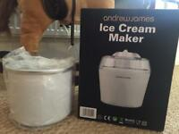 Ice cream maker brand new