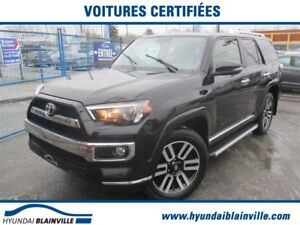 2017 Toyota 4Runner LIMITED 7 PASSAGERS, NAVI. CUIR, TOIT, COMME