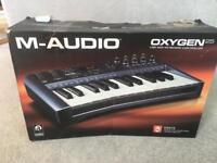 M-Audio Oxygen Midi Keyboard - 25 Keys