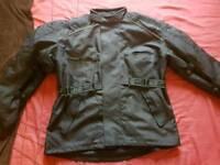 J&S motorbike jacket and trousers set 4XL