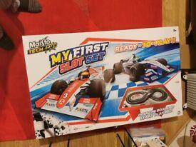 Car racing game like scale electrics