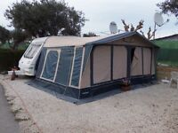 1999 Sterling Europa 500L 5 Berth Caravan in Benidorm Spain