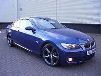 BMW 335D M SPORT COUPE * TWIN TURBO * PADDLE SHIFT * C320 GTI E350 RS E320 330 RANGE ROVER PX A5 A4