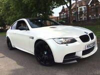BMW M3 4.0 V8 DCT DCT WHITE FULL HISTORY LCI FACELIFT iDRIVE XENON LEATHERS SATNAV PARKING SENSORS