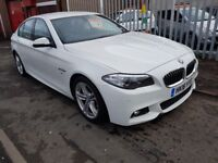 BMW 5 Series 2.0 525d M Sport 4dr 1 OWNER FROM NEW CHEAPEST IN UK 2016