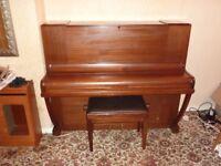 Osbert iron frame piano.