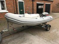 Avon Rover 310 rib inflatable boat