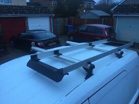 Vauxhall Combo Ladder Roof Rack 2007 Shape