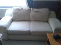 2 Seat Sofa (Large) - Need gone ASAP - Free