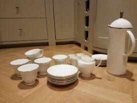 Wedgewood Signet Platinum Tea/Coffee Set