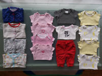 Baby-girl clothes bundle 0 - 3 month £10