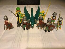 Playmobile green dragon b5