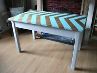 *needs to go* Vintage school desk restored with a modern deco style - Solid Wood - Delivery