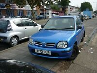 Nissan Micra Gx 16v 5dr (blue) 1999