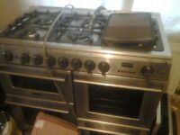 Cannon 10450G 100cm wide Professional Dual Fuel Range Cooker £120