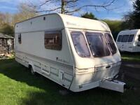 Caravan 4/5/6 berth Lunar Premiere 1998 lovely condition Clevedon