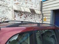 Vauxhall zafira factory roof rails with trim 99 to 05