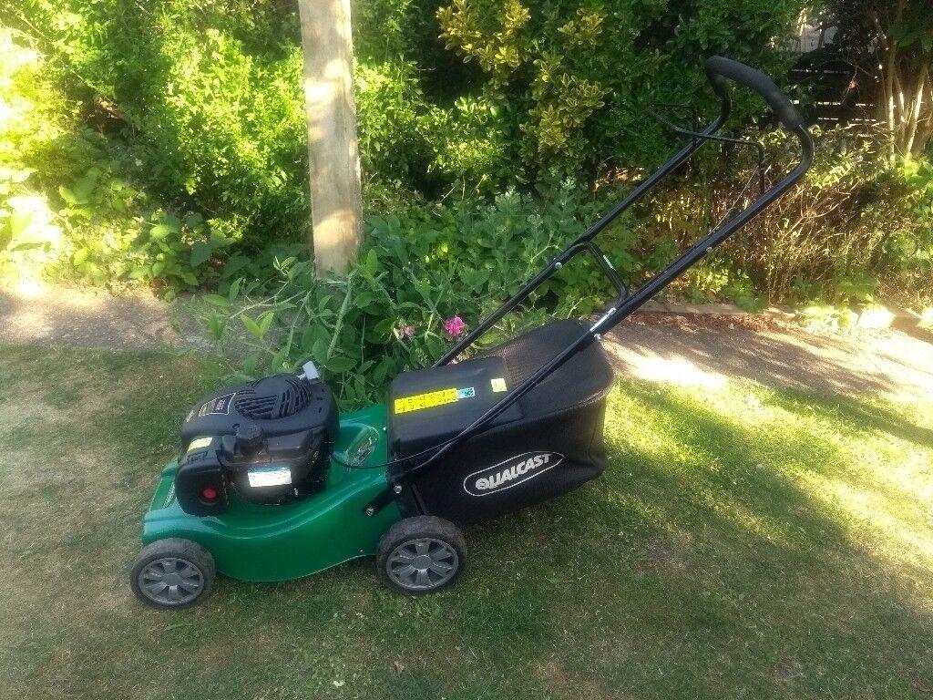 lawn mower qualcast 4 stroke petrol in ash hampshire. Black Bedroom Furniture Sets. Home Design Ideas