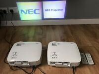 Nec vt48 home cinema projectors