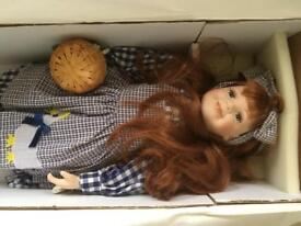 Dorothee limited edition porcelain doll