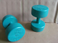 Dumbbells 5Kg X2 - Weider Olympian for home gym