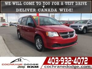2015 Dodge Grand Caravan SXT - WITH DVD AND BACKUP CAM!!