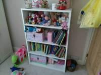 Book shelf - White