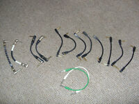 patch leads for guitar effect pedals