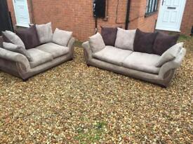 DFS 3 +2 seater sofa