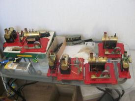 mamod live steam engine's