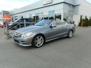 2013 Mercedes E350 CONVERTIBLE CUIR AMG PACKAGE