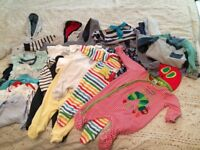 0-3months Baby Boy Bundle of Clothes