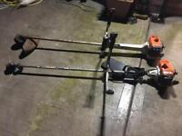 Two Stihl industrial strimmers