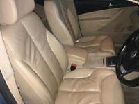 2008 Vw Passat b6 cream leather interior seats with door card arm rest