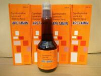 APETAMIN Vitamins Syrup For Weight Gain - 4 x 200ml £43.99 FREE UK SHIPPING