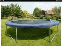 JUMP KING TRAMPOLINE 4.3m with safety side net, spring mattress