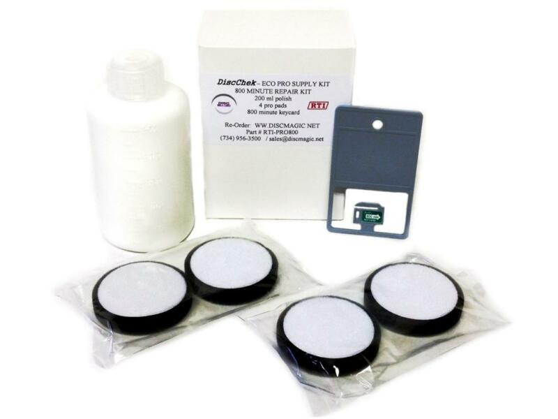 ☆ Genuine ECO PRO 2 800 Minute Supply Kit - 4 Pads 800m Time Card Polish ! ☆