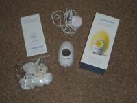 GROBAG EGG BABY ROOM THERMOMETER / NIGHTLIGHT + PLUG COVERS