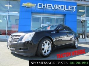 2008 Cadillac CTS AWD, TRACTION INTEGRAL