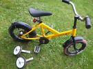 "children's bike 12"" first bike Danish model with back pedal brakes"