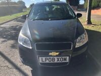 SUPERB 2008 CHEVROLET AVEO 5 DOOR HATCHBACK, 1200CC ENGINE, RECENT NEW CLUTCH, LONG MOT.
