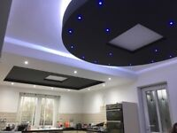 CEILING AND BULKHEAD DESIGN AND BUILD